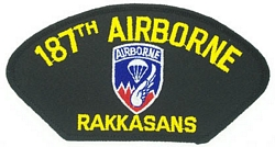 187th Airborne Patches